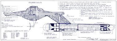 star trek blueprints saladin class destroyer scout u s s