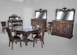 19th century furniture antique dining room sets