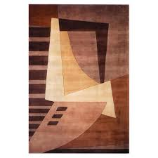 Brown Throw Rugs Style Of Contemporary Area Rugs Home Decorating Ideas