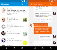 google releases material design messenger for android