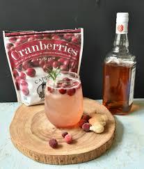 cranberry ginger orange bourbon fizz cape cod select premium