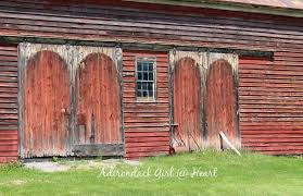 Pictures Of Old Barn Doors The Romantic Old Barns Of Route 20 Adirondack Heart