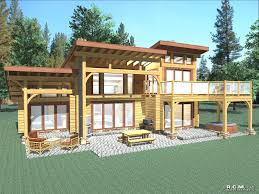 Log Home Styles Contemporary Log Home Styles Rcm Cad Design Drafting Ltd