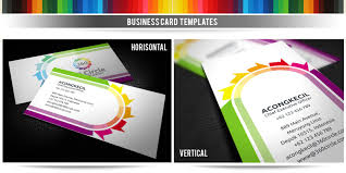 360 circle premium business card template business card