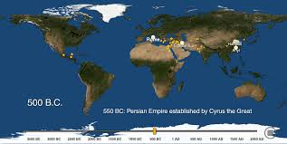 map of america 20000 years ago as the world s cities appear one by one 6 000 years