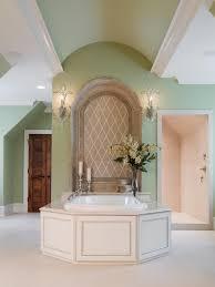 Spa Bathroom Decor Ideas Benjamin Moore Hale Navy Lavender Ice Woodland Blue Bathroom