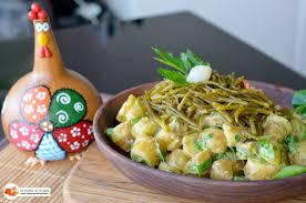 cuisiner salicorne salade de pommes grenailles à la salicorne les pépites de noisette