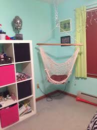 Diy Bedroom Design Inspiration Bedroom Cozy Red Striped Colorful Diy Hanging Chair For Bedroom