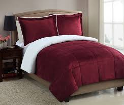 bedroom charming bedroom with red velvet wayfair bedding set and