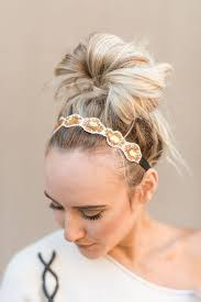 hair accessory bohemian hair accessories bun wraps boho wraps three