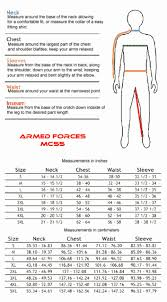 helpful sizing chart for all of our fleeces parkas and winter