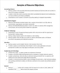 Objective For Resume For Teacher General Objective Resume Examples 26 In Resume Examples General