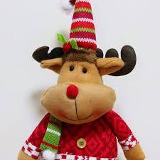 idol santa claus snowman deer ornaments gift