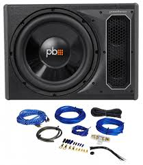 kenwood home theater powered subwoofer powerbass ps awb121 12