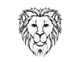 great reference for the lines of a lion jewelry inspiration