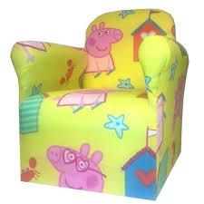 Cartoon Armchair Peppa Pig Childrens Branded Cartoon Character Armchair Chair