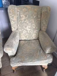 2 Person Armchair Vintage 2 Person Settee U0026 Armchair Must Be Collected By Noon