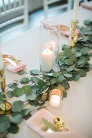 Table Wedding Decorations Best 25 Eucalyptus Centerpiece Ideas On Pinterest Simple