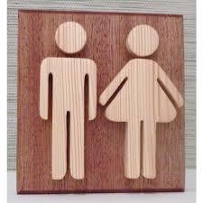 set de table originaux panneaux wc