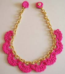 crochet necklace images 13 modern crochet necklaces dream a little bigger jpg