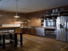 Kitchens Interior Design Glamorous 70 Brick Kitchen Interior Design Decoration Of 74