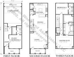 urban townhouse floor plans house plans 84730