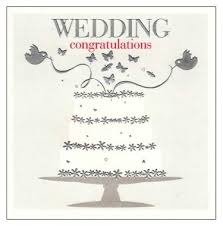 wedding congrats card congratulations greeting card