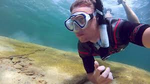 Utah snorkeling images Freediving sand hollow utah jpg