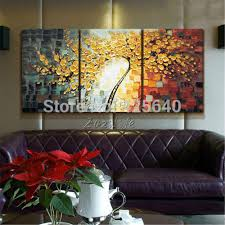 aliexpress com buy oil painting 3 panel 3 piece canvas cuadros