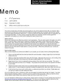 sample confidential memos