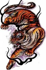 awesome tiger design