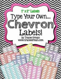 avery 5160 templates labels chevron editable 1x2 avery 5160 by tracee orman tpt