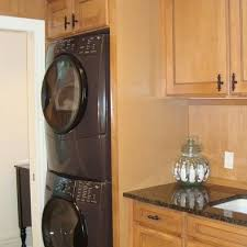 laundry in kitchen design ideas 103 best stacking washer dryer images on laundry