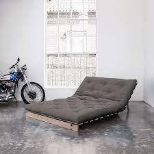 comparateur canap convertible karup canapé convertible roots 140 cm bois brut futon gris canapé