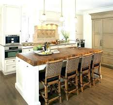 butcher block for kitchen island butcher block kitchen island hickory top table bauapp co
