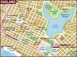 map of oakland map of oakland