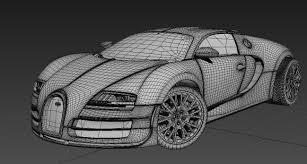 bugatti drawing artstation bugatti veyron brinis yacine