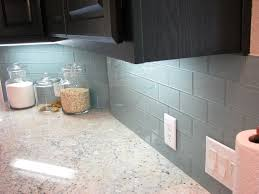 glass backsplashes for kitchens gray glass subway tile kitchen modern with glass backsplash glass