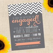 Engagement Party Invitations In Bulk Features Party Dress