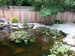 Patio Pond by Water Features And Koi Ponds Sycamore Landscaping Inc