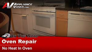 gas stove repair no heat in oven ge hotpoint rcajgbp30wea5ww