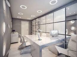 High Tech Home Office Futuristic Interior Design Home Decor Futuristic Office Interior