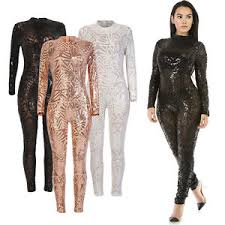 bodycon jumpsuit sequin bodycon jumpsuit trousers sheer mesh playsuit clubwear
