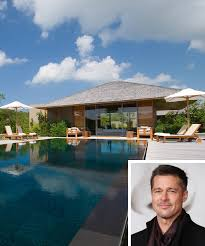 inside brad pitt s thanksgiving vacation in turks and caicos
