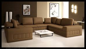 Contemporary Leather Sectional Sofa by Leather Sectional Sofa 5024