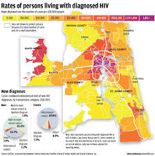 University Of Miami Map Study Jacksonville Area Has Ninth Highest Rate Of New Hiv
