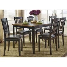 284 cd 7rls liberty furniture 7 piece rectangular table set