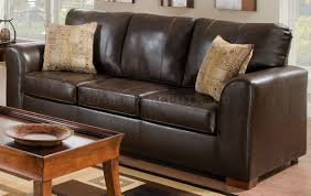 Brown Leather Loveseat Bonded Leather Match Modern Sofa U0026 Loveseat Set W Options
