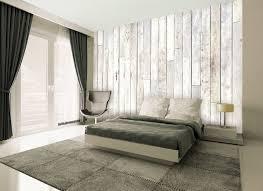 modele papier peint chambre papier peint décoration mural géant facile a suspendre bois blanc