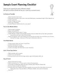 Event Planner Checklist Template Event Checklist Template 10 Event Planning Checklist Samples For